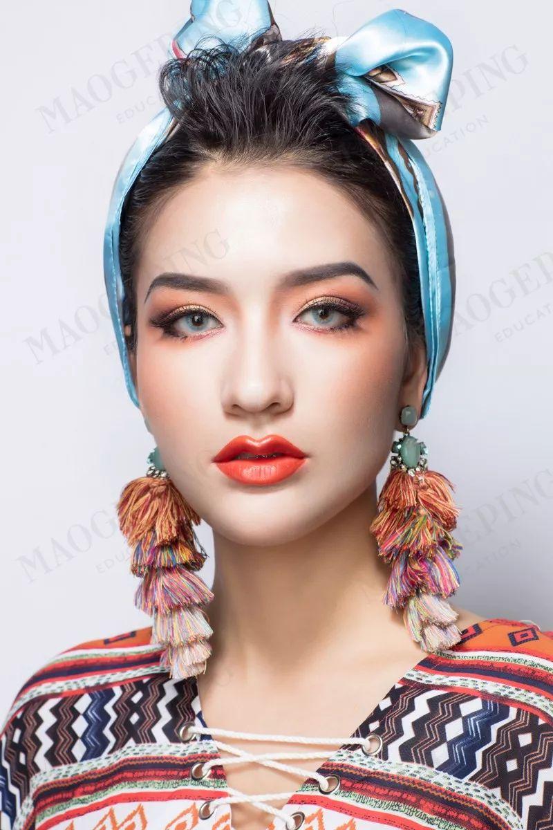 创意妆图片_创意妆容彩妆图片大全 创意妆容图片