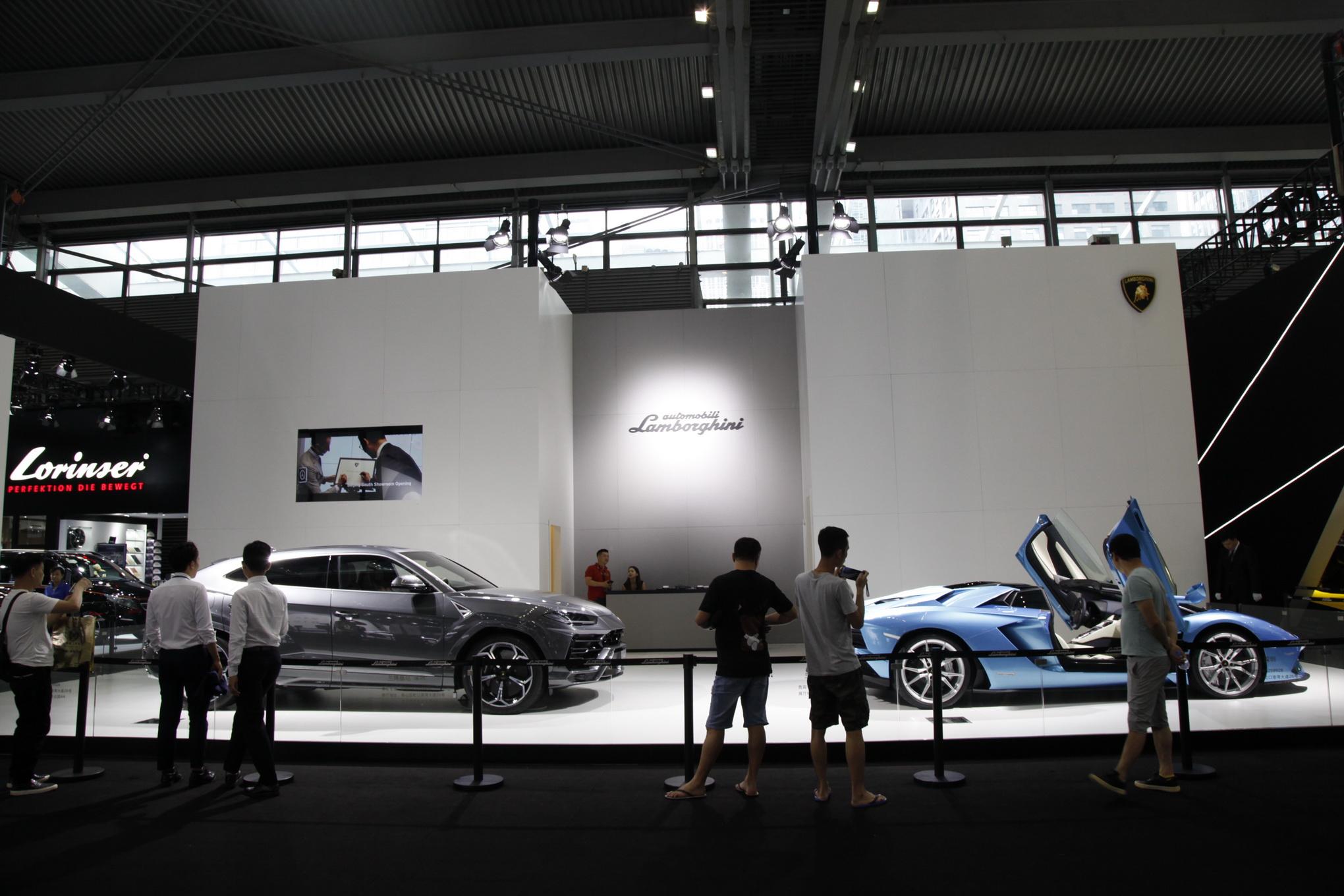展台设计 汽车行业的案例图
