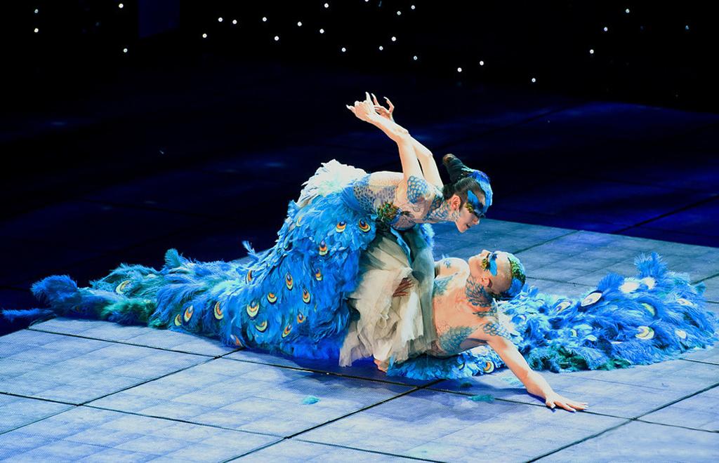 孔雀双人舞《雀之恋》