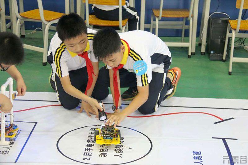 第十二届东莞市中小学电脑机器人竞赛成功举办