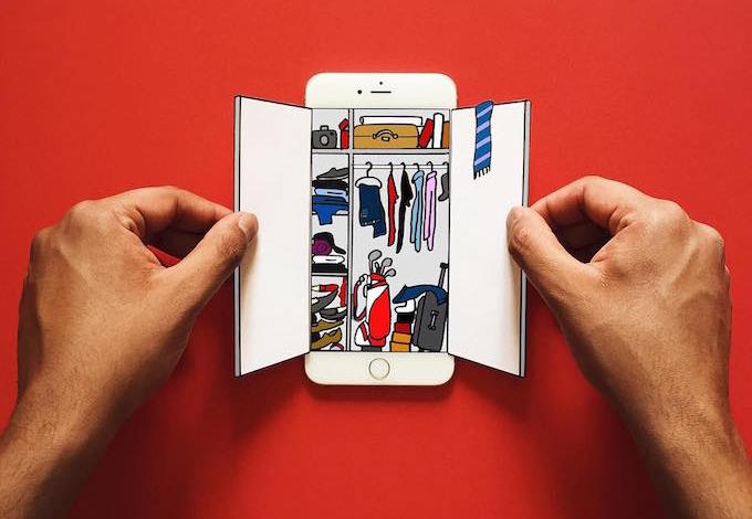 嬉戏幻想变换的iPhone变成一个富有想象力的世界