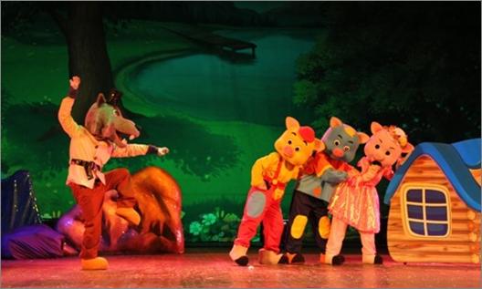 儿童剧《三只小猪》儿童节热门节目