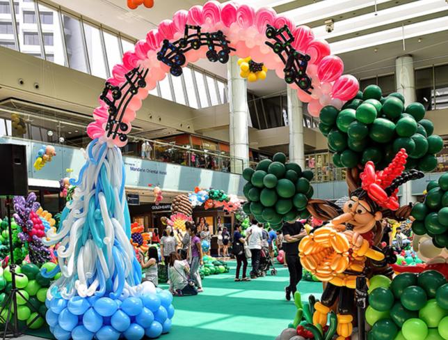 童话气球展---a fairytale garden balloon exhibiton