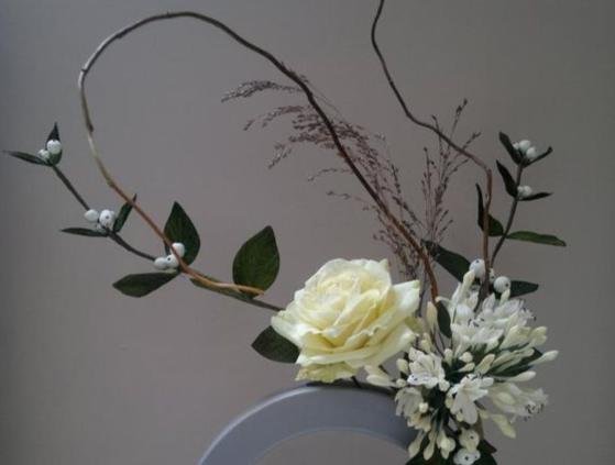 优美的装饰---插花