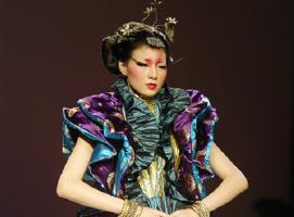 中国十佳设计师北京时装周 作品
