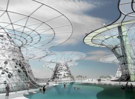 创造淡水的人工海岛