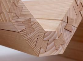 传统燕尾榫工艺创意运用 设计别具一格的现代家具