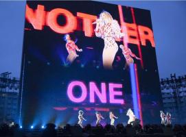 世界顶级演唱会!一块大屏就够了