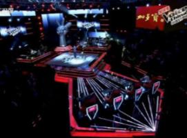 中国好声音舞台