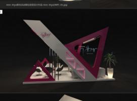 Amr Atya展会活动展位造型设计