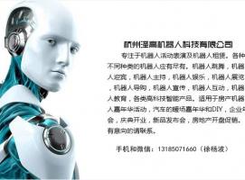 机器人租赁、VR、无人机表演租赁以及售卖