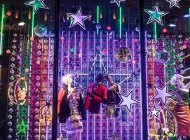 2017最新圣诞橱窗盘点
