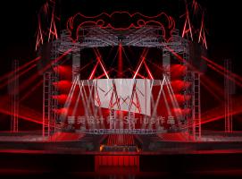 零距离大型演唱会舞美效果图