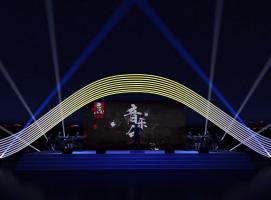 音乐会舞台灯光效果图