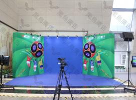 穿梭机情景穿梭互动合影体验装置
