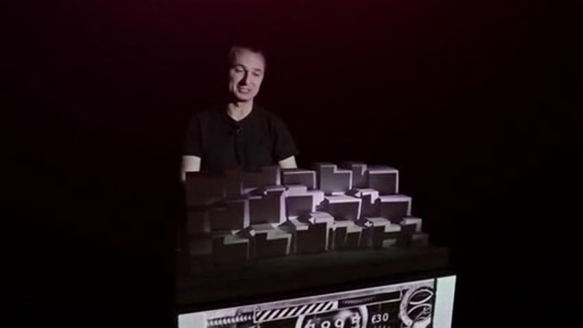 裸眼3D立体书魔术