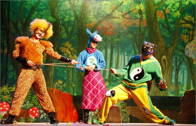 儿童剧《龟兔赛跑》校园剧舞台剧六一元旦必备